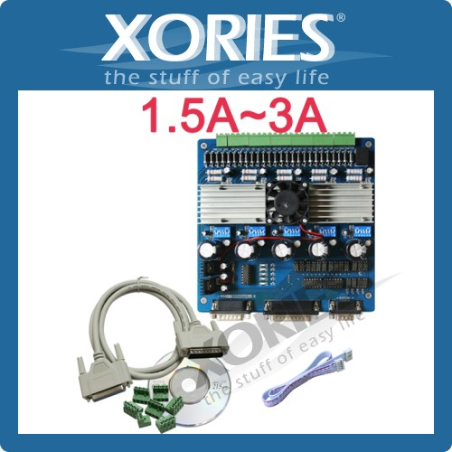 TB6560 CNC Stepper Motor Driver Board 5 Axis 3A