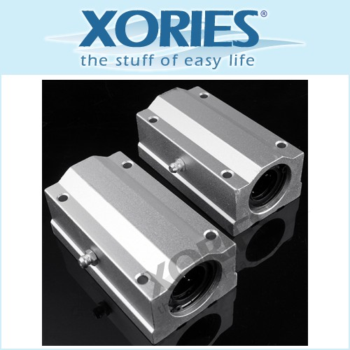 16mm SC16LUU Linear Ball Slide Bearing Block CNC 2pcs